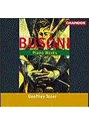 Busoni: Piano Works