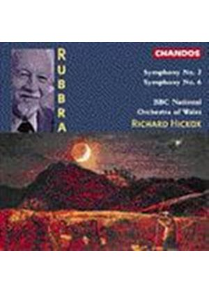 Edmund Rubbra - Symphony No2 2 & 6 (Music CD)