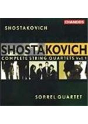 Shostakovich: Complete String Quartets , Vol 1