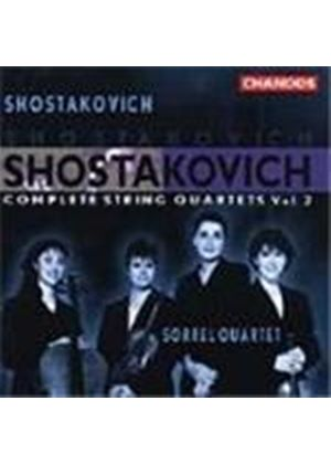 Shostakovich: String Quartets, Volume 2