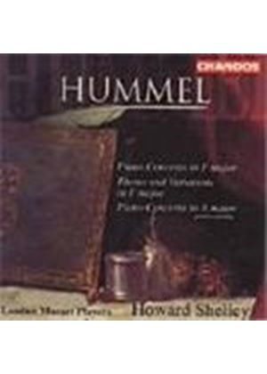 Hummel: Piano Concertos; Theme and Variations, Op.97