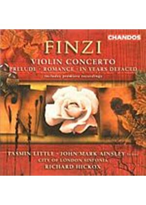 Gerald Finzi - Violin Concerto (Little/Ainsley/Hickox) (Music CD)
