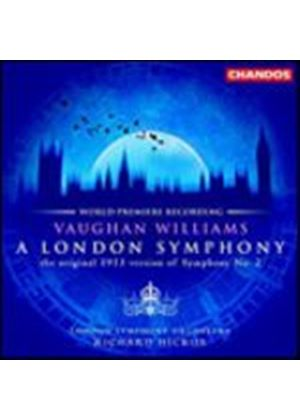 Ralph Vaughan Williams - London Symphony (Hickox, Lso) (Music CD)