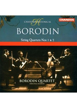 Alexander Borodin - String Quartets Nos. 1 And 2 (Borodin Quartet) (Music CD)