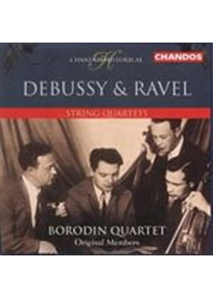 Debussy/Ravel - String Quartets (Borodin Quartet) (Music CD)
