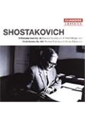 Shostakovich: Works for Violin and Piano