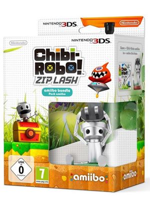 Chibi-Robo! Zip Lash with amiibo (Nintendo 3DS)