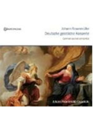 Rosenmuller: Sacred German Concertos (Music CD)