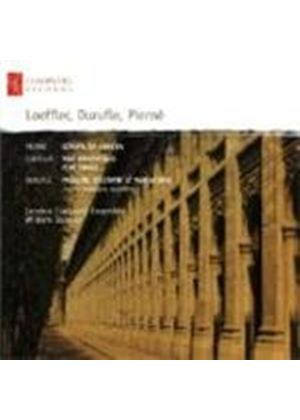 Durufle; Loeffler; Pierne: Chamber Works (Music CD)