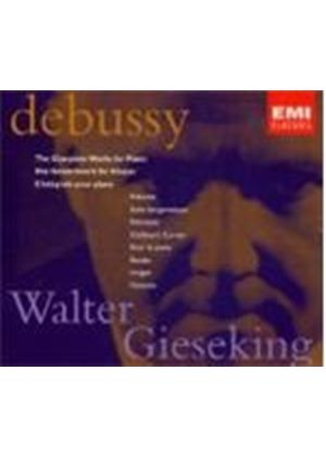 Debussy - COMPLETE WORKS FOR PIANO(GIESEKING)