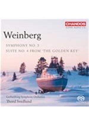 Weinberg: Symphony No. 3; Suite No. 4 from 'The Golden Key' [SACD] (Music CD)
