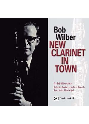 Bob Wilber - New Clarinet in Town (Music CD)
