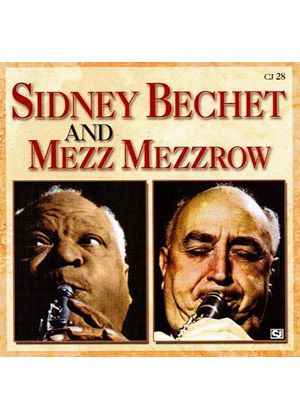 Mezz Mezzrow - Sidney Bechet with Mezz Mezzrow (Music CD)