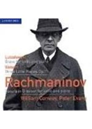 Lutoslawski/Rachmaninov/Webern: Cello Works