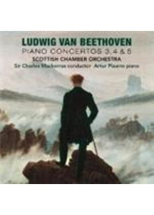 Beethoven: Piano Concertos Nos 3, 4 and 5 (Music CD)