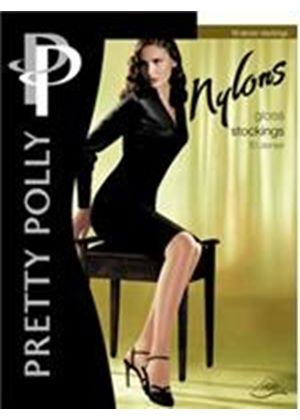 Stockings Pretty Polly Nylons Gloss Lace Top Stockings