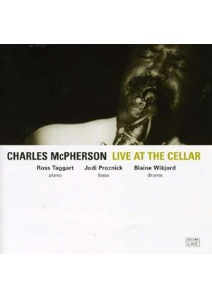 Charles McPherson - Live at the Cellar (Music CD)