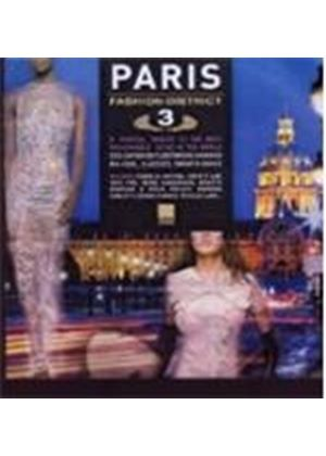 Various Artists - Paris Fashion District Vol.3 (Music CD)