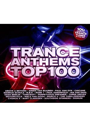 Various Artists - Trance Anthems Top 100 (Music CD)
