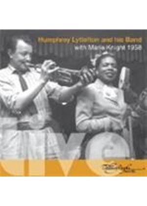 Humphrey Lyttelton & His Band - Live With Marie Knight 1958 (Music CD)