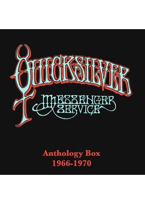 Quicksilver Messenger Service - Anthology Box 1966-1970 (+4DVD) (Music CD)