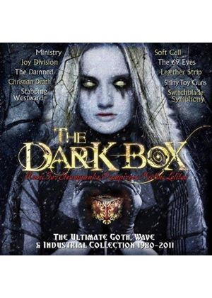 Various Artists - Dark Box (Ultimate Goth, Wave and Industrial Collection 1980-2011) (Music CD)