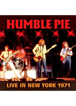 Humble Pie - Live In New York 1971 (Live Recording) (Music CD)