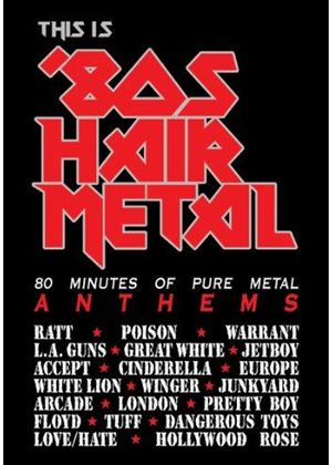 Various Artists - This Is 80s Hair Metal [Cleopatra DVD] (+DVD)