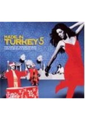Various Artists - Made In Turkey Vol.5 (Mixed By DJ Kultar Gulbahar) (Music CD)