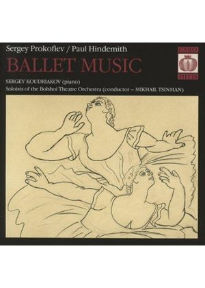Prokofiev, Hindemith: Ballet Music (Music CD)