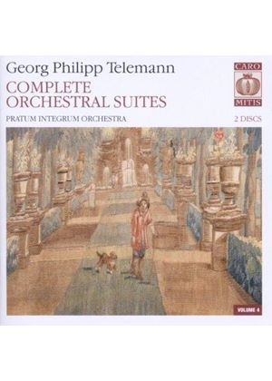 Telemann: Complete Orchestral Suites, Vol. 4 [SACD] (Music CD)