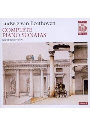 Ludwig van Beethoven: Complete Piano Sonata, Vol. 4 [SACD] (Music CD)