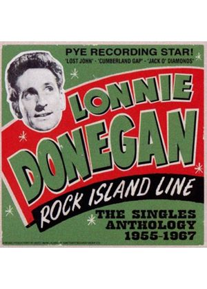 Lonnie Donegan - Rock Island Line: The Singles Anthology 1955 - 1967 (3 CD) (Music CD)