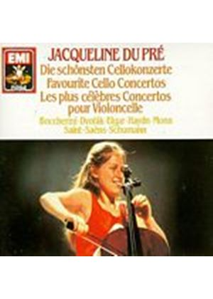 Jacqueline Du Pre - Favourite Cello Concerti (Music CD)