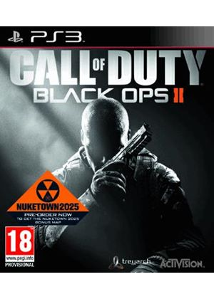Call Of Duty: Black Ops II (With Pre-Order Bonus Nuketown 2025 Multiplayer Map) (PS3)