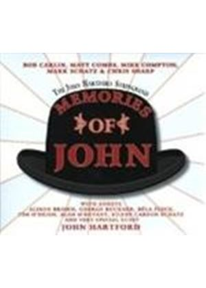 John Hartford & The Hartford String Band - Memories Of John (Music CD)