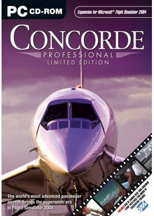 Concorde Professional - Limited Edition Add-On for FS 2004 (PC CD)