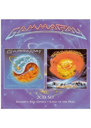 Gamma Ray - Insanity And Genius/Land Of The Free (Music CD)