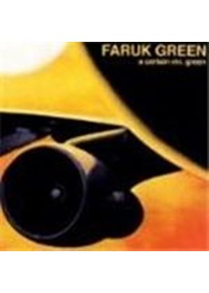 Faruk Green - A Cetain Mr. Green (Music Cd)
