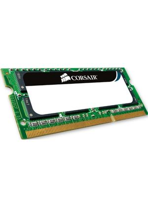 Corsair - Memory - 4 GB - SO DIMM 204-pin - DDR3 - 1066 MHz / PC3-8500 - CL7 - unbuffered