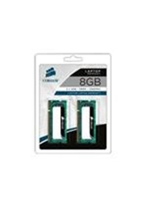 Corsair - Memory - 8 MB ( 2 x 4 GB ) - SO DIMM 204-pin - DDR3 - 1066 MHz / PC3-8500 - CL7 - unbuffered