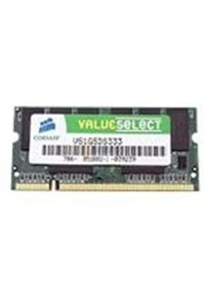 Corsair Value Select - Memory - 1 GB - SO DIMM 200-pin - DDR - 333 MHz / PC2700