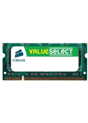 Corsair Value Select - Memory - 1 GB - SO DIMM 200-pin - DDR2 - 800 MHz / PC2-6400 - CL5 - unbuffered