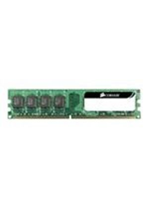 Corsair Value Select - Memory - 4 GB ( 2 x 2 GB ) - DIMM 240-pin - DDR2 - 800 MHz / PC2-6400 - CL5 - 1.8 V