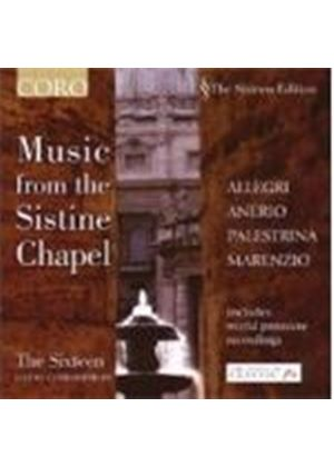 Allegri/Anerio/Palestrina - Music From The Sistine Chapel (Christophers, The Sixteen) (Music CD)