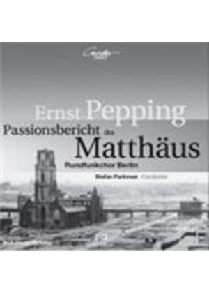 Pepping: Passion According to St. Matthew [SACD] (Music CD)