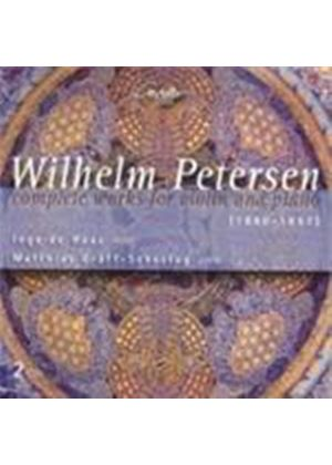 Petersen: Complete Works for Violin and Piano (Music CD)