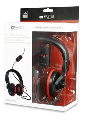 4GAMERS CP-NC1 Officially Licensed Gaming Headset (PS3)