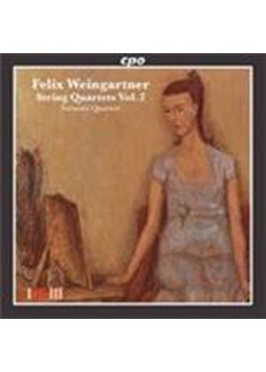 Weingartner: String Quartets, Vol 2 (Music CD)