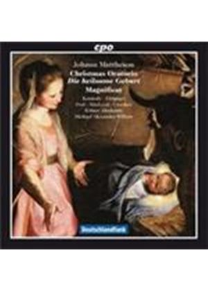 Mattheson: Christmas Oratorio (Music CD)
